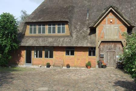 Moderne Ferienwohnung unter Reet - Quarnbek bei Kiel - Apartamento