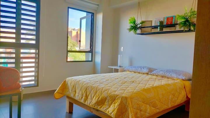 Cómodo apartamento nuevo Green Chic. Chapultepec