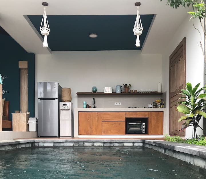 1BR w/pool close to Ubud Yoga Centre