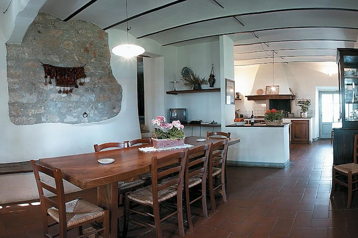 Toscana pittoresca: Case 1 - Palazzone - House