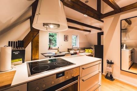 Idyllische Maisonettewohnung - Altenberg - Apartamento