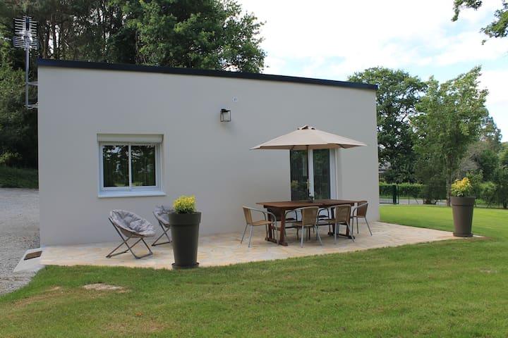 Maison au calme avec vue sur la vilaine - La Chapelle-de-Brain - Ev