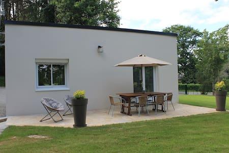 Maison au calme avec vue sur la vilaine - La Chapelle-de-Brain