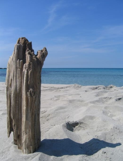 La spiaggia di San Foca a 50 metri da casa