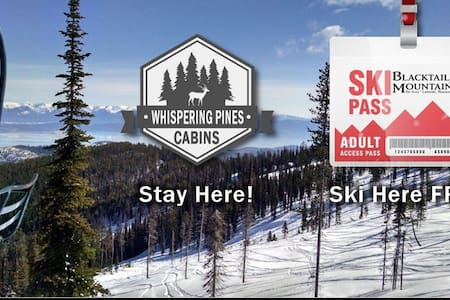 Whispering Pines, Flathead Lake Cabins - Lakeside