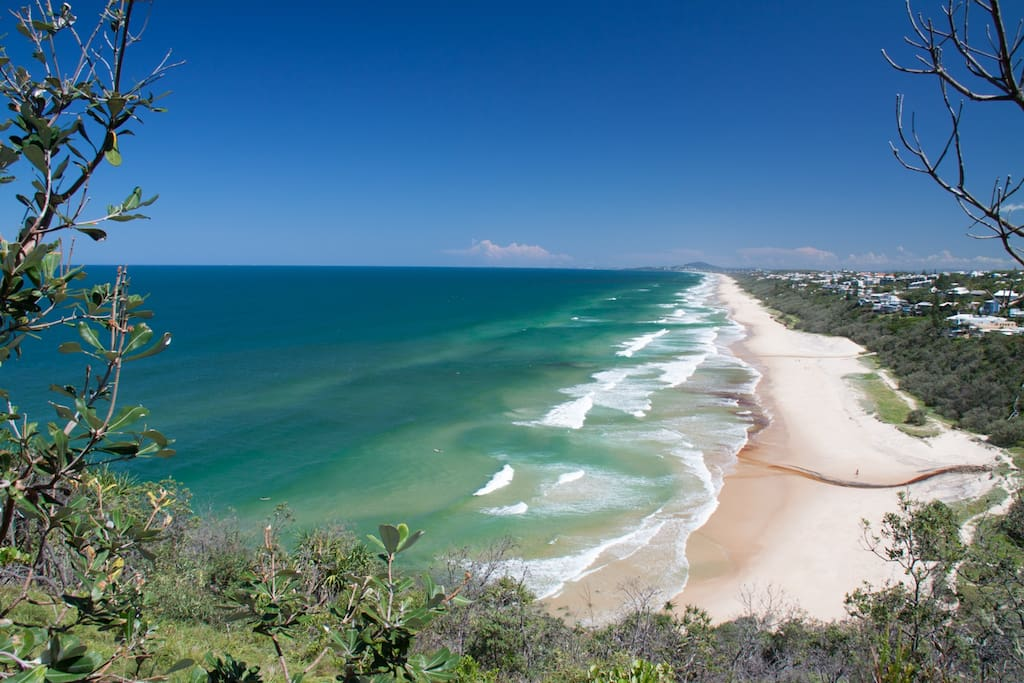 The Sunshine Coast seen from Noosa Heads AKA our beach