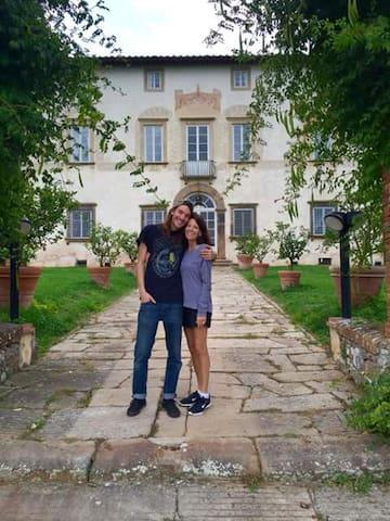 Villa Buonvisi di Massa Pisana - Lucca - Apartmen