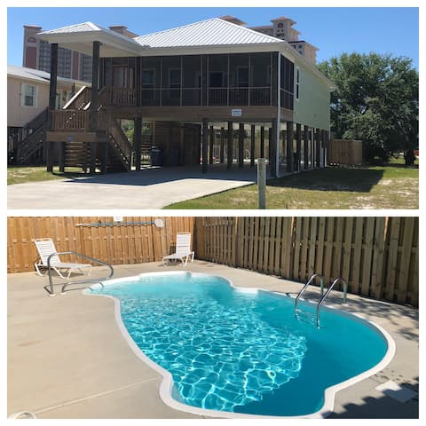 Private Pool-Beach Minutes Away-Great Location
