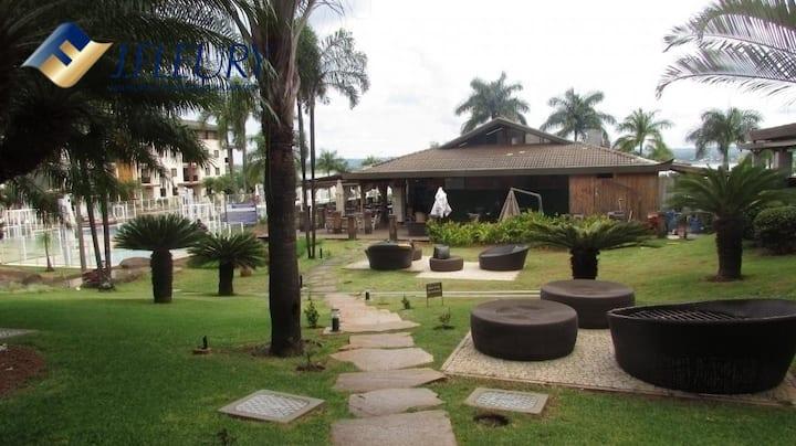 Life Resort Brasília - Beira lago