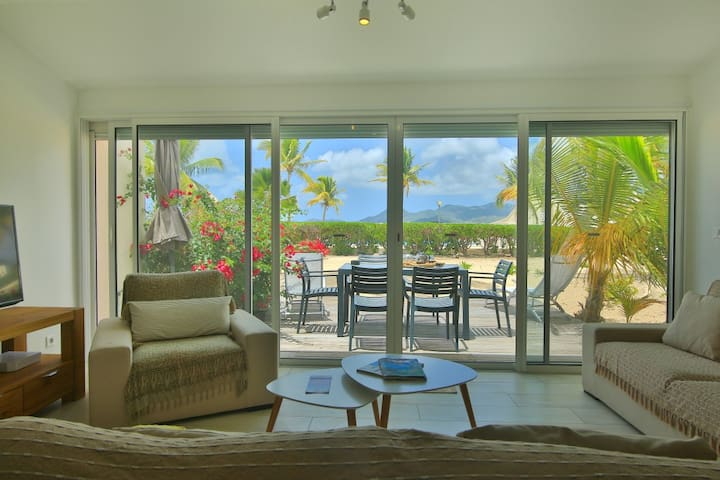 SEADUCTION Cosy and luxury 2 bedroom duplex beach cottage - Marigot - Hus