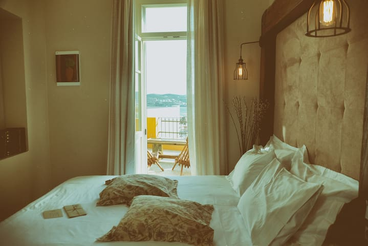 city and sea view vintage chic accommodation