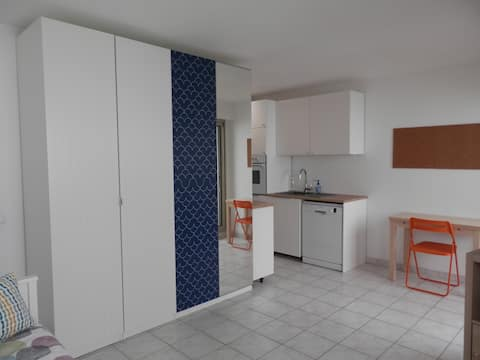 Brand new studio in downtown-A/C rue Mossa
