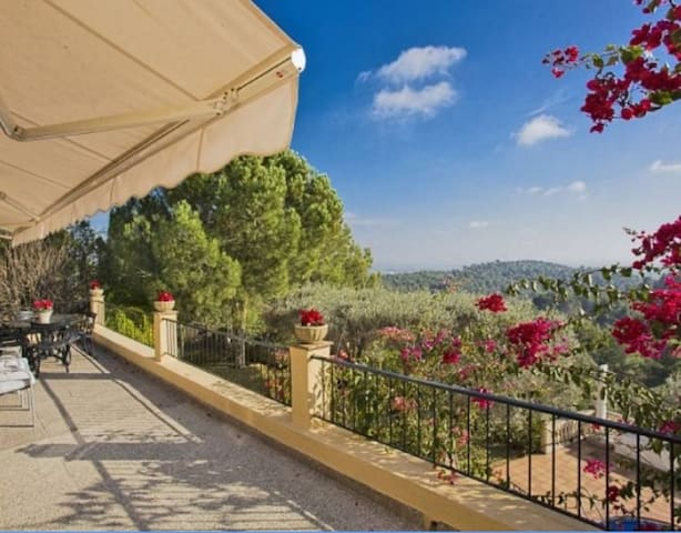 Fantastic Villa with views  Ses Rotgetes Esporles - Esporles - Dom