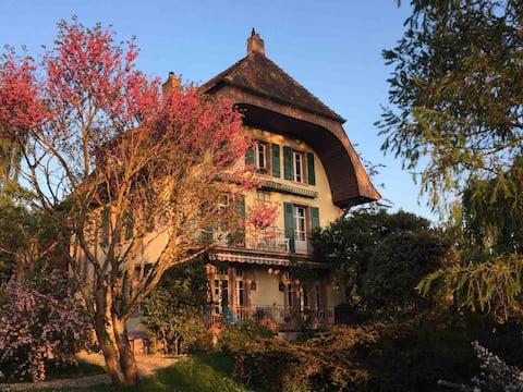 Petit appartement cosy dans belle maison à Yverdon