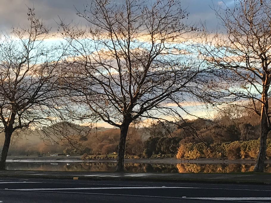 Autumn in Whanganui. River View from The Lights