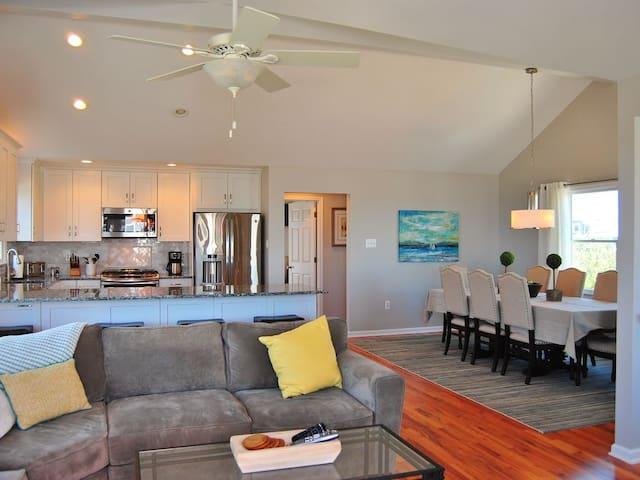 Third floor open concept living