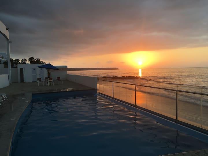 Departamento frente al mar Manta