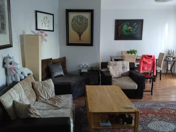 Calm flat in SariBelde