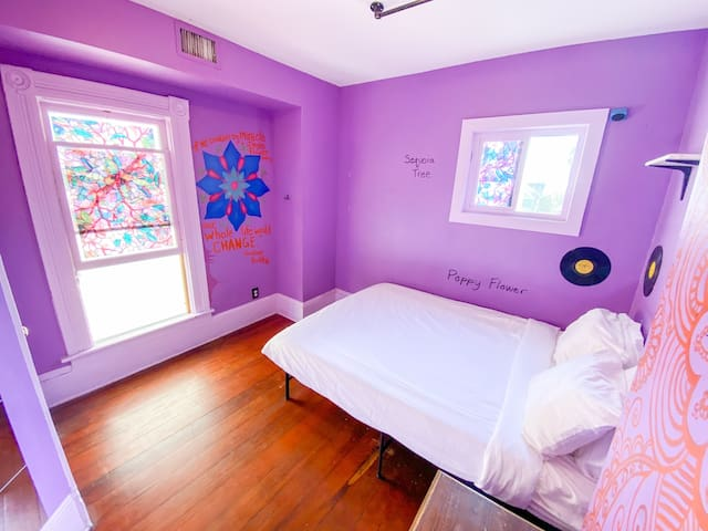 Private Room in Downtown at Victorian House