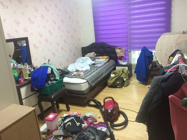 편안한 아파트, 10min from Namchunchoen St - Chuncheon-si - Appartement