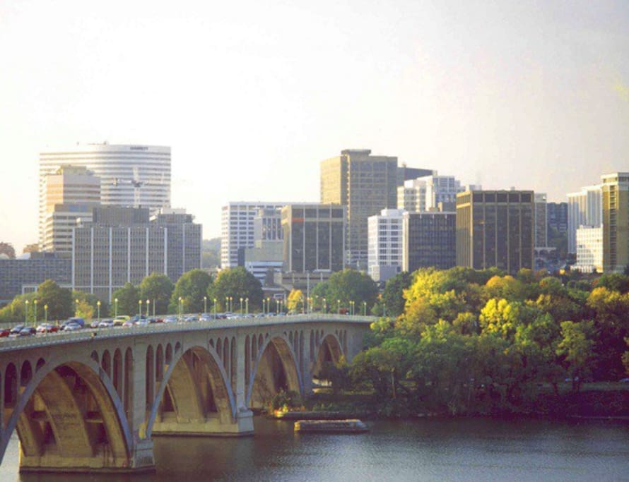 View of Rosslyn from Georgetown