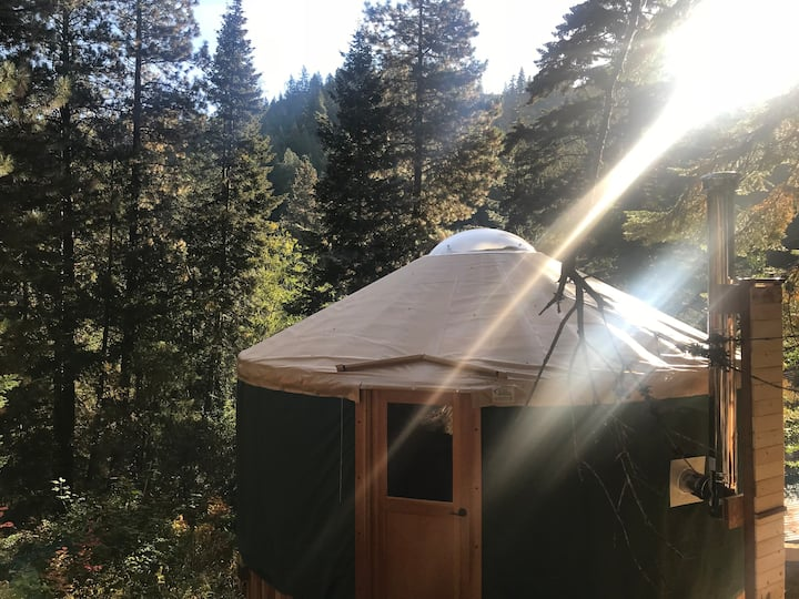 Rising Moon Yurt