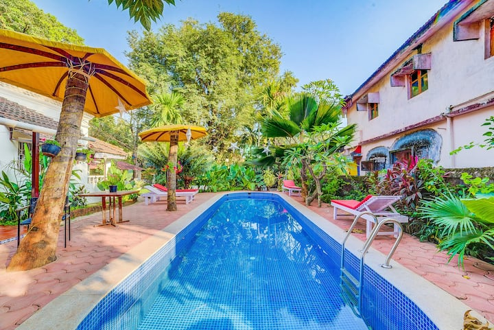 Beautiful 2 BR Villa with Pool in Candolim
