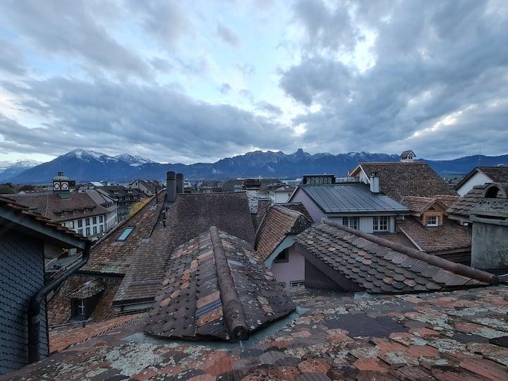 Über den Dächern von Thun