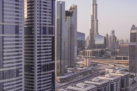 Emirates Grand Hotel - Burj Khalifa - Appartamento