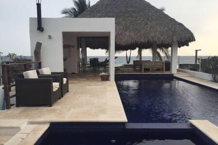 Beautiful Beachfront Property - Monterrico