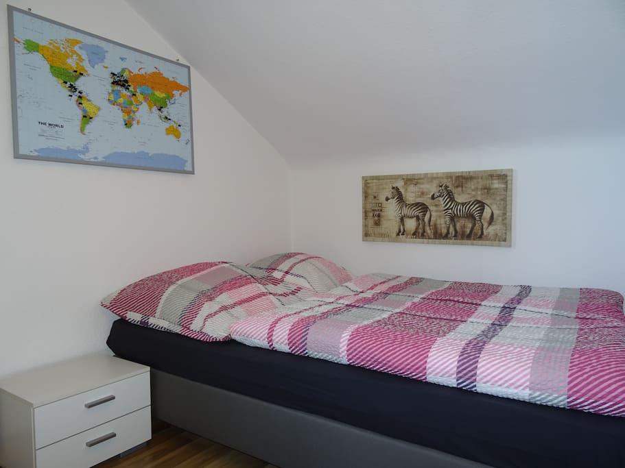 Gem tlich bernachten im afrika style mit tv wohnungen zur miete in neukirch baden - Schlafzimmer afrika style ...