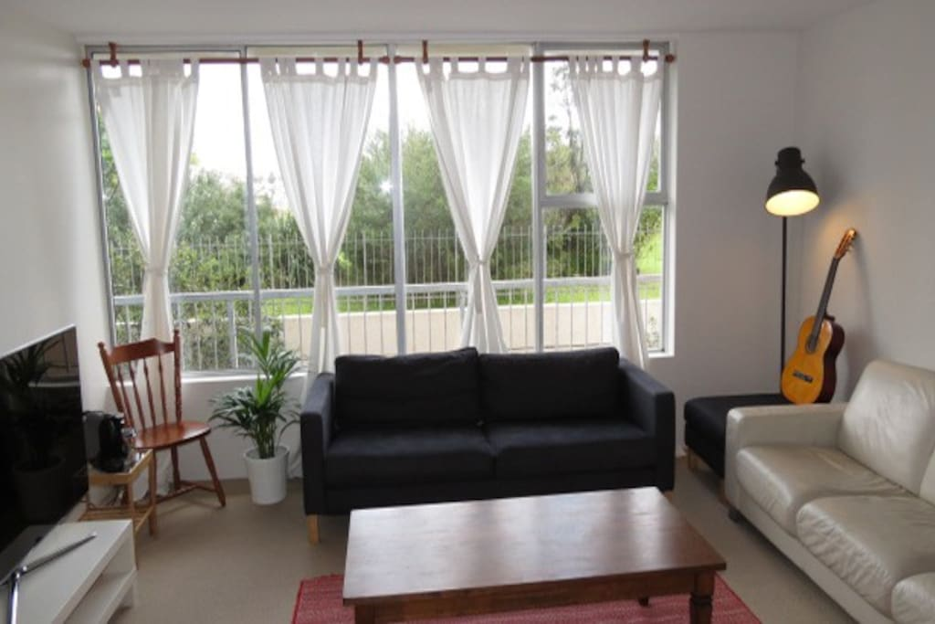 Living room with a open kitchen