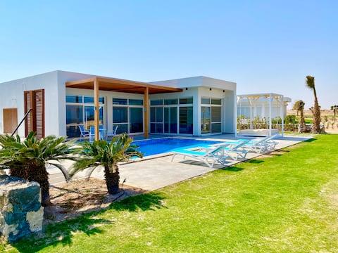 Exclusive luxury modern beach villa in SOMABAY
