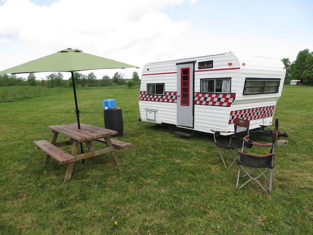 Glamping on a Niagara Escarpment farm