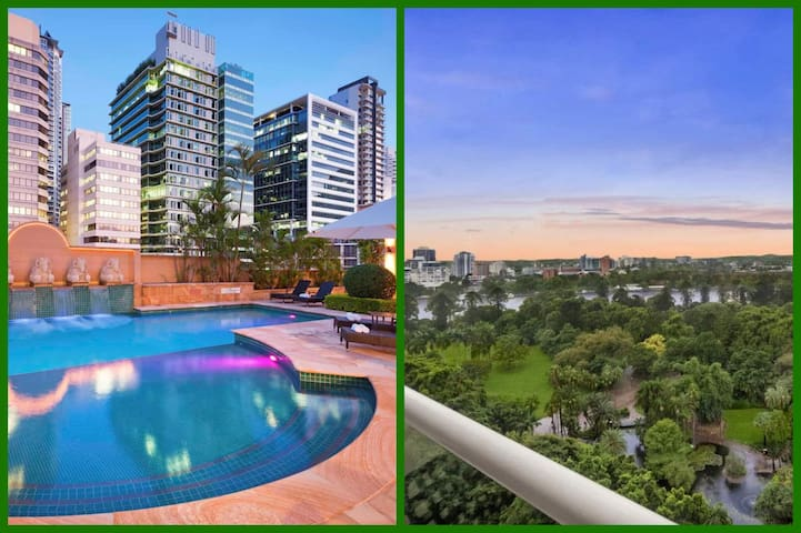 CBD LUXURY OASIS*Botanical Garden and River Views*