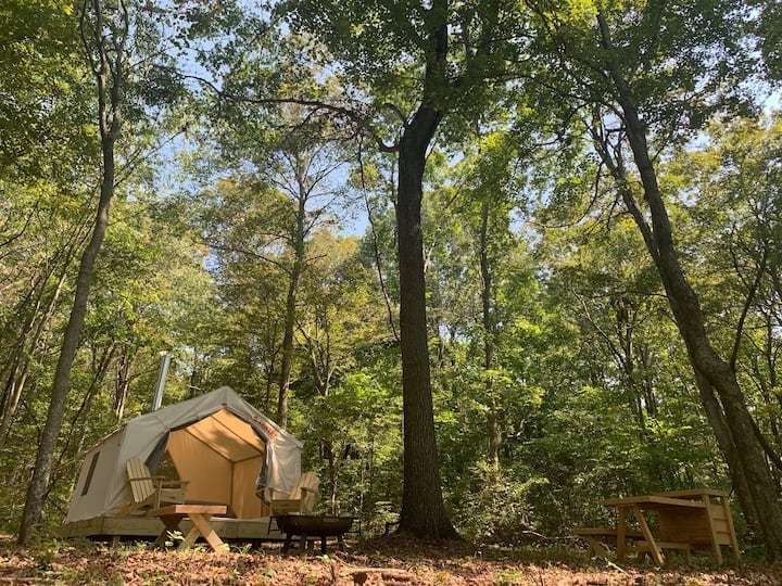 Hidden Lake Farms Glamping