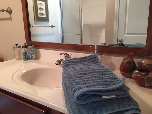Private, Quiet Suite - Great for Football or Work! - North Liberty - Townhouse