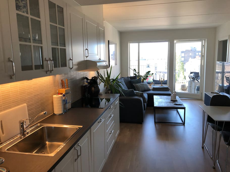 Kitchen / living room