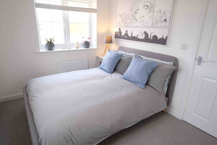 Double room near UWE/MOD/MetroBus with parking