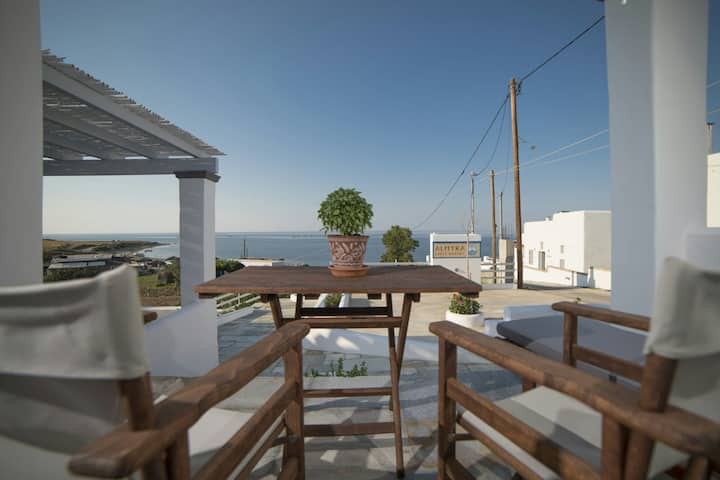 Two Level Studio with Sea view B