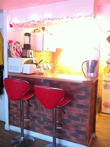 Appartement chaleureux proche de Montmartre
