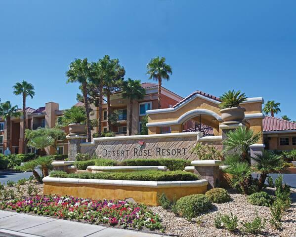 Las Vegas: Desert Rose (2 bedroom unit)