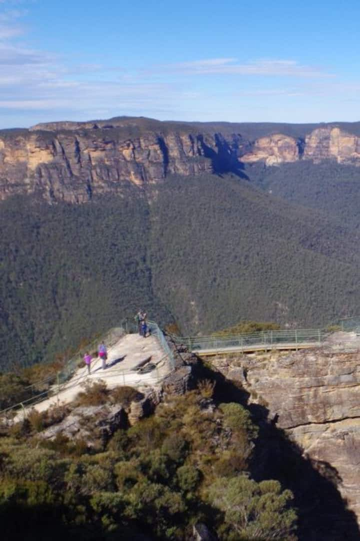 "The ""Grand Canyon"" - Blue  Mountains"