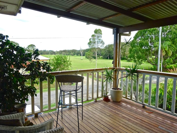 Mullumbimby  bright upstairs room