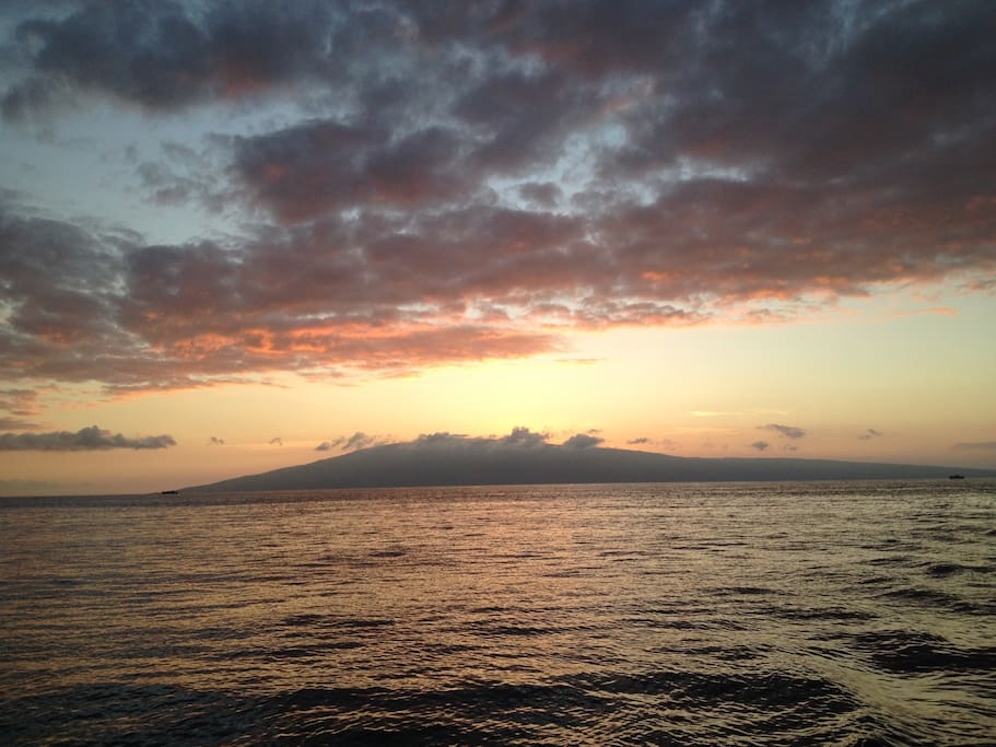 Sunset from Maui.