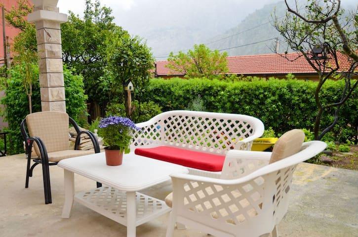 Apartment Buki-with a beautiful garden