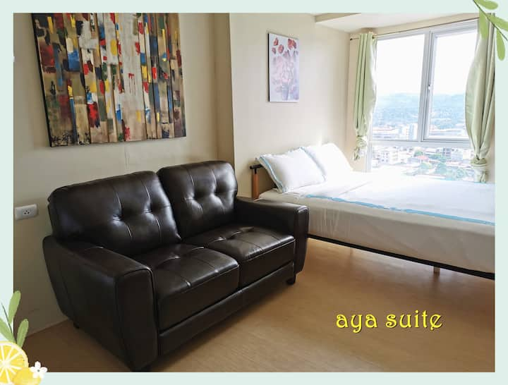 17floor 5 queen  bed Centrio tower cable tv wifi