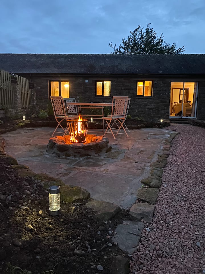 Country cottage & private garden in rural Cumbria