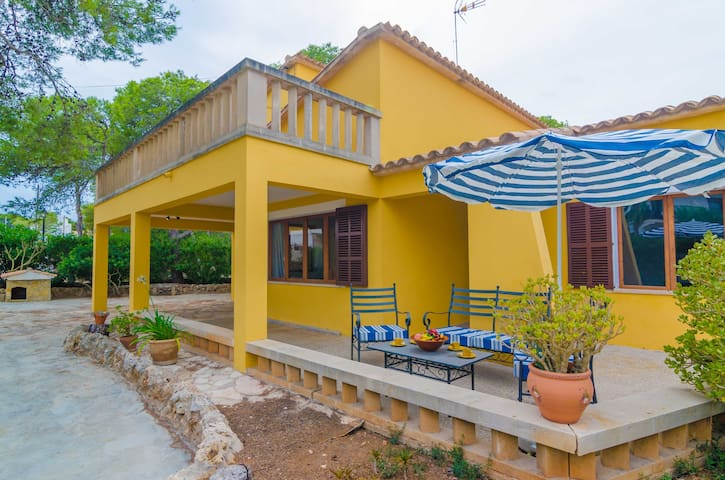 CLOVELLA - Chalet for 7 people in Cala Figuera.