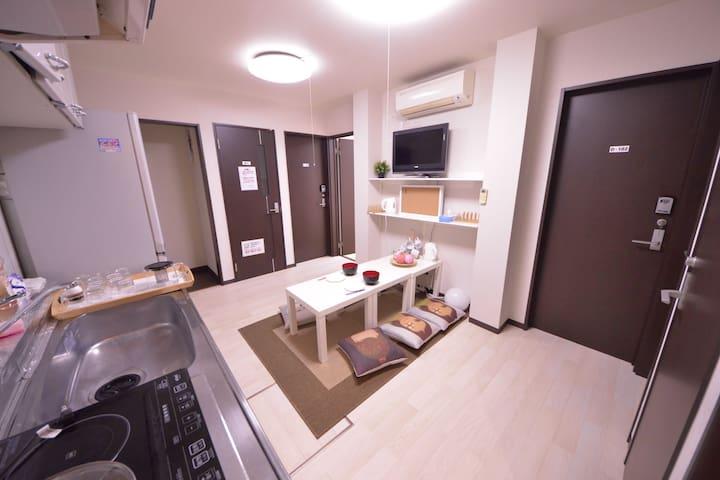 Osaka's lovely single room - Осака - Квартира